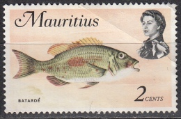 Mauritius, 1969 - 2c Batarde Fish - Nr.339 Usato° - Mauritius (1968-...)