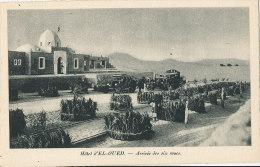 V V1001 / C P A    AUTO  AUTO -CAR -HOTEL D'EL-OUED  ARRIVEE DES SIX ROUES - Cartes Postales
