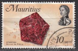 Mauritius, 1969 - 10c Starfish - Nr.343 Usato° - Mauritius (1968-...)