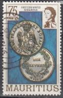 Mauritius, 1978 - 20c First Coin Minted In Mauritius - Nr.452 Usato° - Mauritius (1968-...)