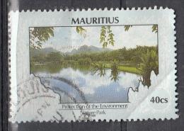 Mauritius, 1989/97 - 40c Environmental Protection - Nr.685 Usato° - Mauritius (1968-...)