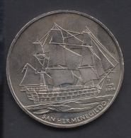 2008-MN-2  CUBA. 2008. 1$. BARCO SAN HERMEGILDO. SHIP. CU-NI. - Kuba