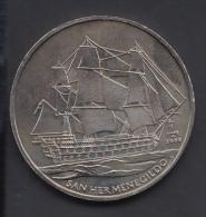 2008-MN-2  CUBA. 2008. 1$. BARCO SAN HERMEGILDO. SHIP. CU-NI. - Cuba