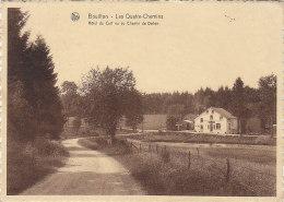 Belgique - Les Quatre Chemins - Bouillon - Hôtel Du Cerf - 1936 - RARE - Bouillon