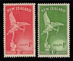 NEW ZEALAND 1947 YT N° 295/296 Au Profit Des Oeuvres Pour La Santé De L´enfance Statue D´Eros - Ongebruikt