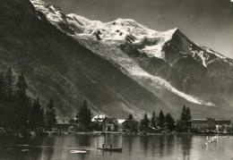 B12105 Chamonix -   Le Lac, Le Mont Blanc - Chamonix-Mont-Blanc