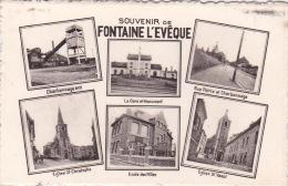 Fontaine-l'Evêque 57: Souvenir De Fontaine L'Evêque ( Multi-vues ) - Fontaine-l'Evêque