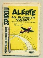 """Petit Livret Collection Mini-Bibliothèque Mini-Récit """" SPIROU """" N°95 - Alerte Au Plombier Volant ! - TB. Etat - Livres, BD, Revues"""