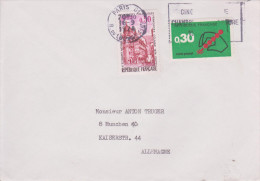 G7 France Francia Frankreich 1974 Lettre De Pars Pour Munich München - France