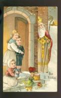 Saint Nicolas  Sint Niklaas   Carte Gaufrée  Gaufrage  Reliëf  - P F B Serie 6439 - Andere