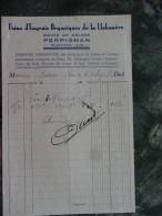 Usine D'Engrais Organiques De La Llabanere Perpignan    PO 1930 - France