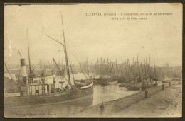 ILE D´YEU Rare Avant Port Vu De L'extrémité De La Jetée Du Brise Lames (Dugas) Vendée (85) - Ile D'Yeu