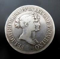 5 FRANCHI 1808  ARGENT SILVER - Monete Regionali
