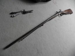 fusil de chasse � piston milieux XIX �me