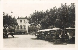 LE LAVANDOU RUE ERNEST REYER TERRASSE GRAND HOTEL BRASSERIE LA POTINIERE 83 VAR - Le Lavandou