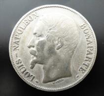5 FRANCS  1852    A  ARGENT SILVER QUALITE - Francia