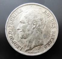 5 FRANCS  1851   ARGENT SILVER QUALITE - 1831-1865: Leopoldo I