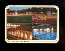 Principauté De MONACO : Stade Louis II Football Stadium Foot Calcio Stadio Complexe Sportif Volley Ball Piscine - Fontvieille