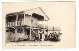 DIEGO SUAREZ - Antsiranana - Visite Des Colis à L'arrivée Du Courrier - Ed. Chatard, Diego-Suarez - Madagascar