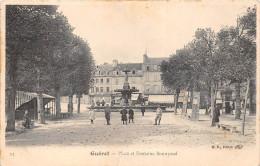 ¤¤  -   11   -   GUERET   -  Place Et Fontaine Bonnyaud   -  ¤¤ - Guéret