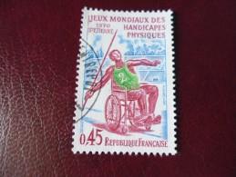 FRANCE OBLITERATION  CHOISIE   YVERT N° 1649 - Frankreich
