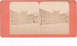 Commune De Paris  1871 Semaine Sanglante Ruines De Paris 1871 Palais Des Tuileries Incendié - Fotos Estereoscópicas