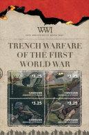 Canouan Grenadines Of St. Vincent-2014-War-WWI - St.Vincent & Grenadines