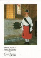 CPM     87     SAINT JUNIEN        OSTENSIONS 1995       LE SERGENT DES SUISSES