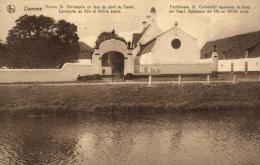BELGIQUE - FLANDRE OCCIDENTALE - DAMME - Pachthoeve St. Christoffel Tegenover De Brug - Ferme St Christophe En Face ... - Damme