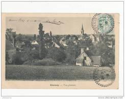 45 CERNOY VUE GENERALE CPA BON ETAT - Autres Communes