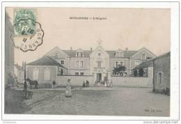 49 MORANNES L HOPITAL CPA BON ETAT - Sonstige Gemeinden