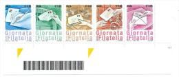 Italia 2014; Giornata della Filatelia ; serie completa ; striscia unita di base . Nuovi