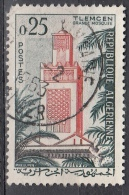 Algeria, 1962 - 25fr Mosque Tlemcen - Nr.293 Usato° - Algeria (1962-...)