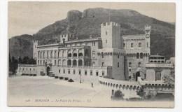 (RECTO / VERSO) MONACO EN 1907 - N° 328 - LE PALAIS DU PRINCE - BEAU CACHET - Fürstenpalast