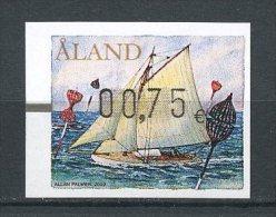 ALAND 2009 DISTRIBUTEURS N° 18 (0,75) **  Neuf = MNH Superbe Bateaux Boats Voilier Sailboat Balises - Aland