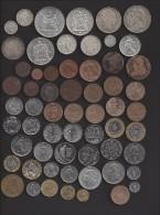 Lot de 92 monnaies France Diff�rentes de la R�volution � la fin du Fr Majorit� Sup � neuve  dont 11 argt et 21 comm�mo