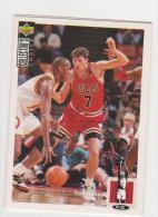 CHICAGO BULLS   TONI KUKOC - Trading Cards