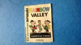 """Petit Livret Collection Mini-Bibliothèque Mini-Récit """" SPIROU """" N°116 - Rainbow-Valley - Petit Livret Non Agrafé - Livres, BD, Revues"""