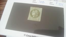 LOT 258887 TIMBRE DE FRANCE NEUF* N�39B VALEUR 225 EUROS