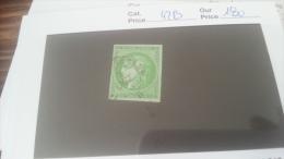 LOT 258888 TIMBRE DE FRANCE OBLITERE N�42B VALEUR 180 EUROS