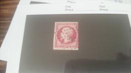 LOT 258890 TIMBRE DE FRANCE OBLITERE N�17B VALEUR 55 EUROS