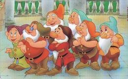 Télécarte    DISNEY  * Snow White & The 7 Dwarfs * Télécarte  Les États-Unis (23) Phonecard USA  * Telefonkarte * - Disney