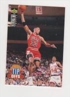 CHICAGO BULLS   SCOTTIE PIPPEN  TIP OFFS - Trading Cards