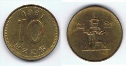CHINA 10 CENT YUAN 1991 - China