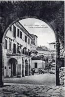 LAZIO-LATINA-BASSIANO VEDUTA ARCO USCITA PRINCIPALE DEL PAESE ANIMATA - Italia