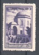 51-508 // TUR. - 1941  GRABMAL Von HEIREDIN  Mi 1104 ** - 1921-... Republic