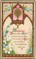 """IMAGE PIEUSE HOLY Card Santini : """" Seigneur Daignez Jeter Un Regard Sur Tous Ceux Que J'aime """" - Images Religieuses"""