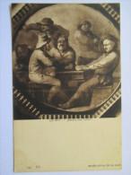Cpa  Les Joueurs De Cartes  - Cards PLayers    Musée Royal De La Haye - Cartes à Jouer