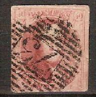 Medaillon 40 Cent Gestempeld P73 Van LIEGE / LUIK Met 3 Randen In Goede Staat (zie 2 Scans) ! - 1849-1865 Medallions (Other)