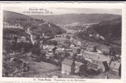 16-Trois-Ponts-Panorama Vu Du Belvédère - Trois-Ponts